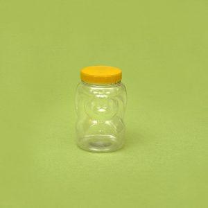 Plasticna tegla za krem, oblik veverica, pet tegla