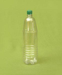 Plasticna okrugla boca, 1,5 litara, pet ambalaza, PVC flasa