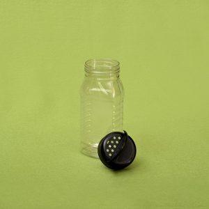 Plasticna tegla za zacine, cajeve, pola kg, pet tegle